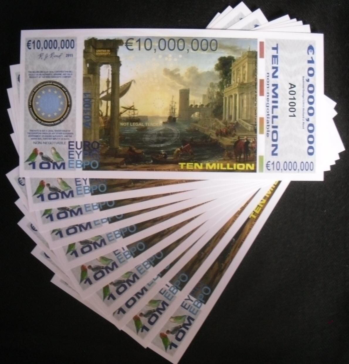 10000000 Euro