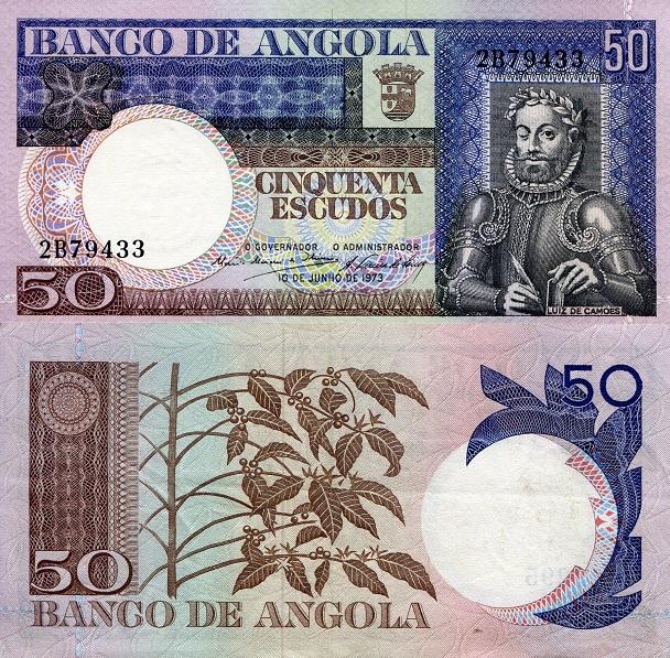 Angola P-106 100 Escudos Year 1973 Uncirculated Banknote