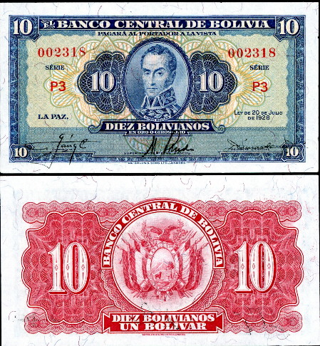BOLIVIA 100 BOLIVIANOS P-226 2001 F SERIES UNIVERSITY UNC LATINO MONEY BANK NOTE