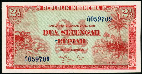 P-15 Fractional Denom. UNC /> 75 years old 1945 10 sen Indonesia