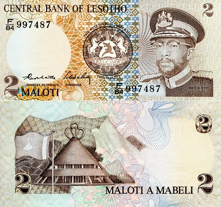 LESOTHO 50 Maloti 2013 P-23b UNC Banknote